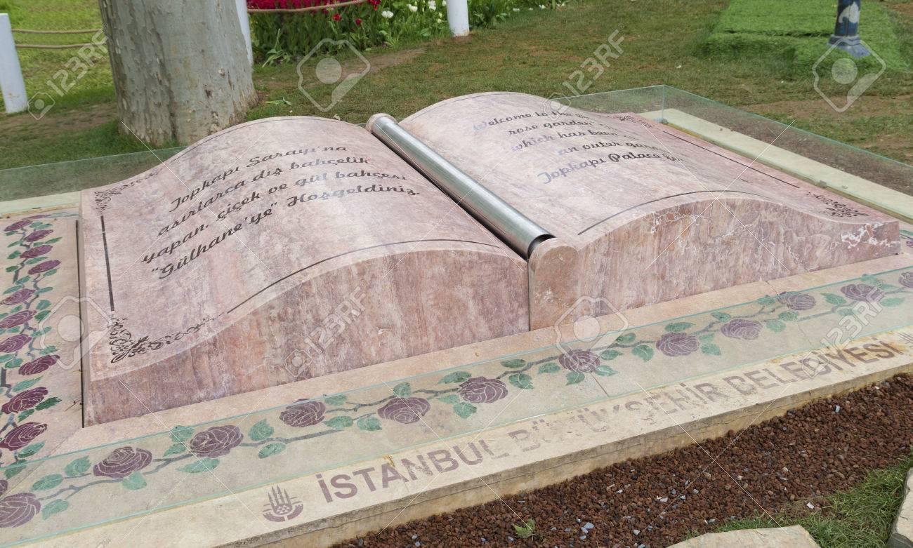 Bar Exterieur En Pierre pierre bienvenue dans le parc gulhane à istanbul la fleur et roseraie  gulhane sert un jardin extérieur du palais de topkapi