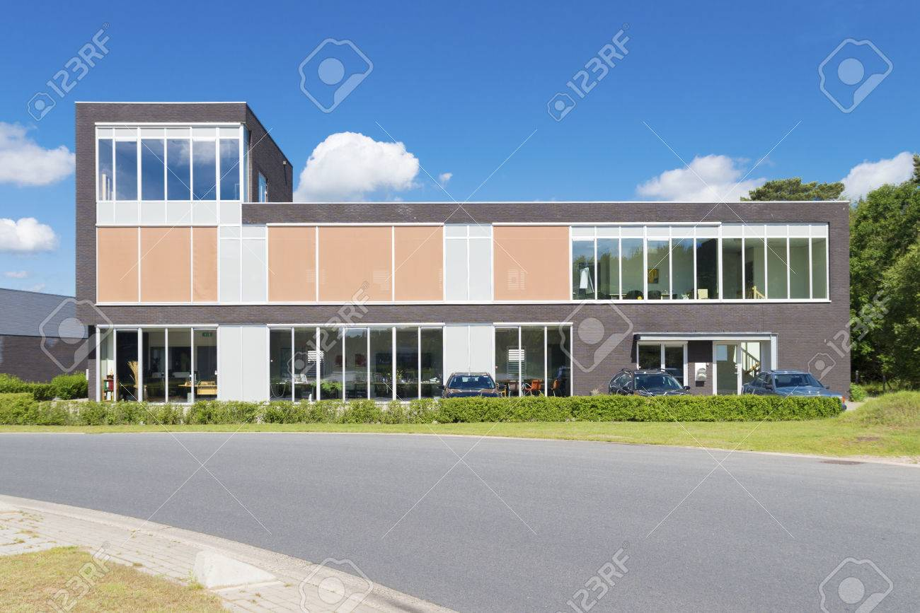 Exterior Of A Modern Small Office Building Stock Photo Picture And Royalty Free Image Image 30815762