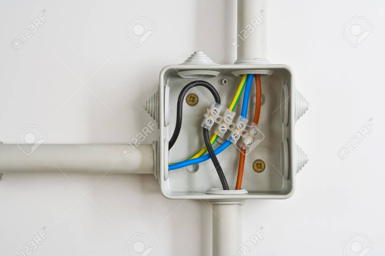 Electrical Wire Connections In A Box