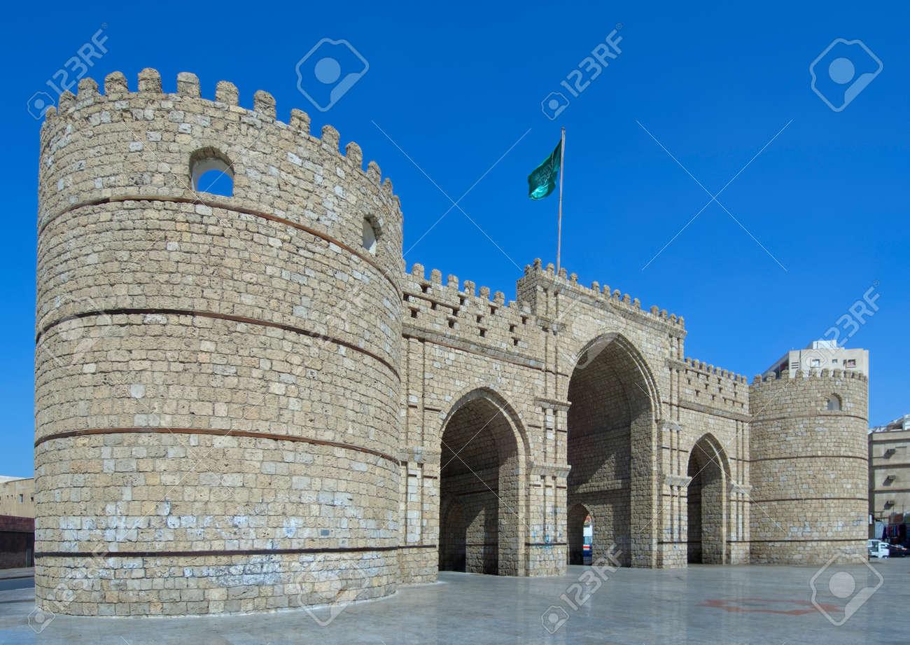 Makkah gate in Jeddah, Saudi Arabia
