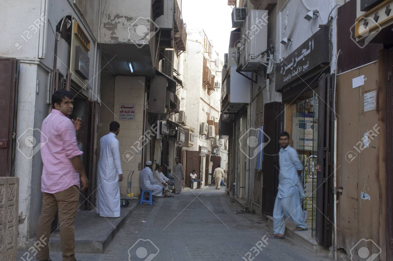 Old Jeddah (Balad) The old market in Jeddah  pre-Islam era, Saudi