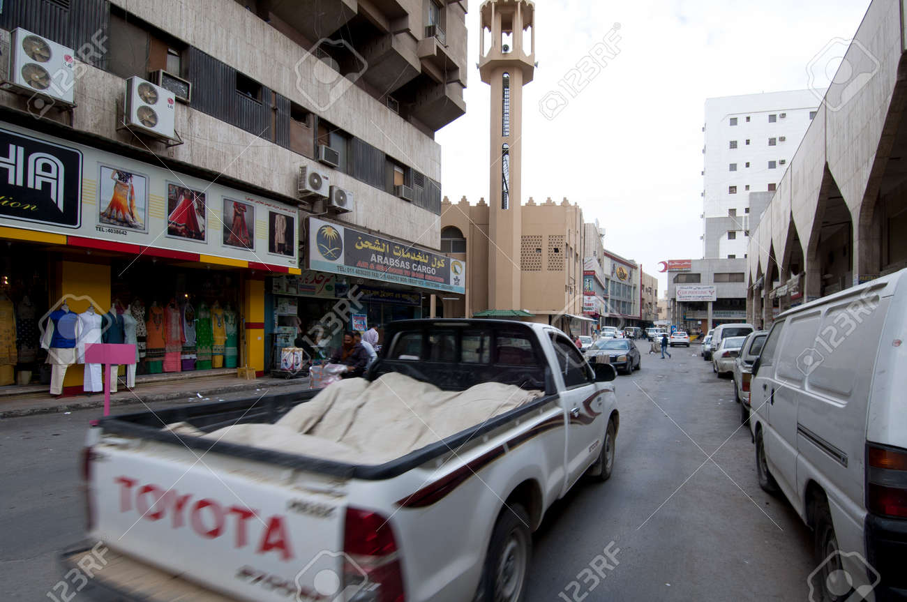Shops And Shoppers In Old Batha Riyadh Saudi Arabia 01 12 2016 Stock Photo Picture And Royalty Free Image Image 105182448