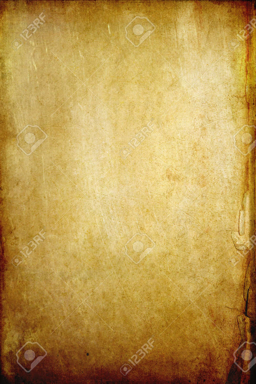 old grunge paper background with space Stock Photo - 9295750
