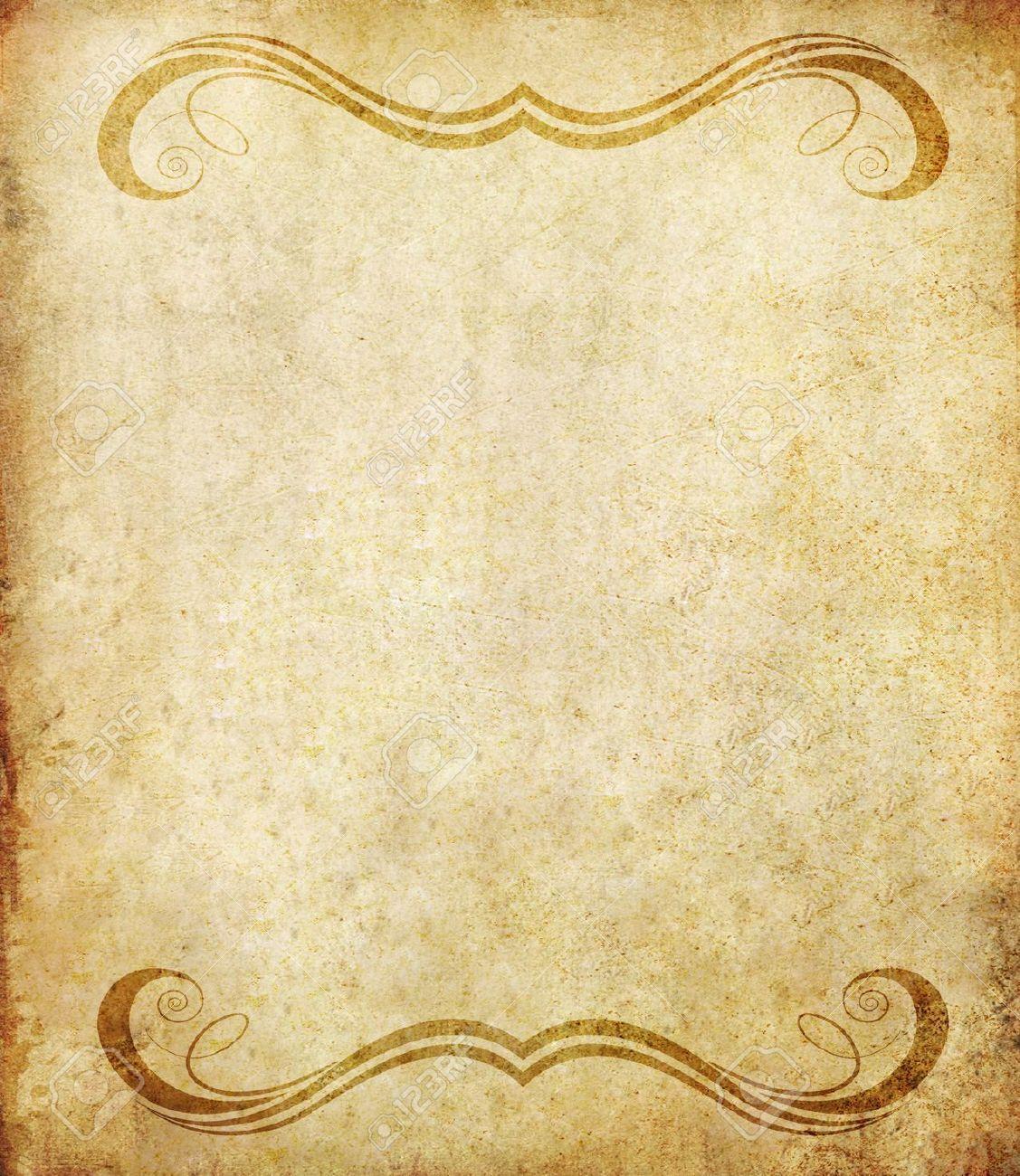 Old Notebook Paper Background Old Grunge Paper Background
