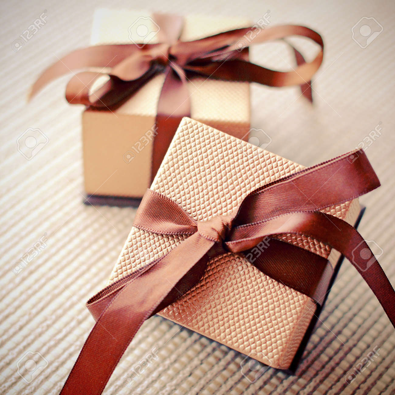 Luxury gift boxes with ribbon retro filter effect stock photo luxury gift boxes with ribbon retro filter effect stock photo 21434232 negle Choice Image
