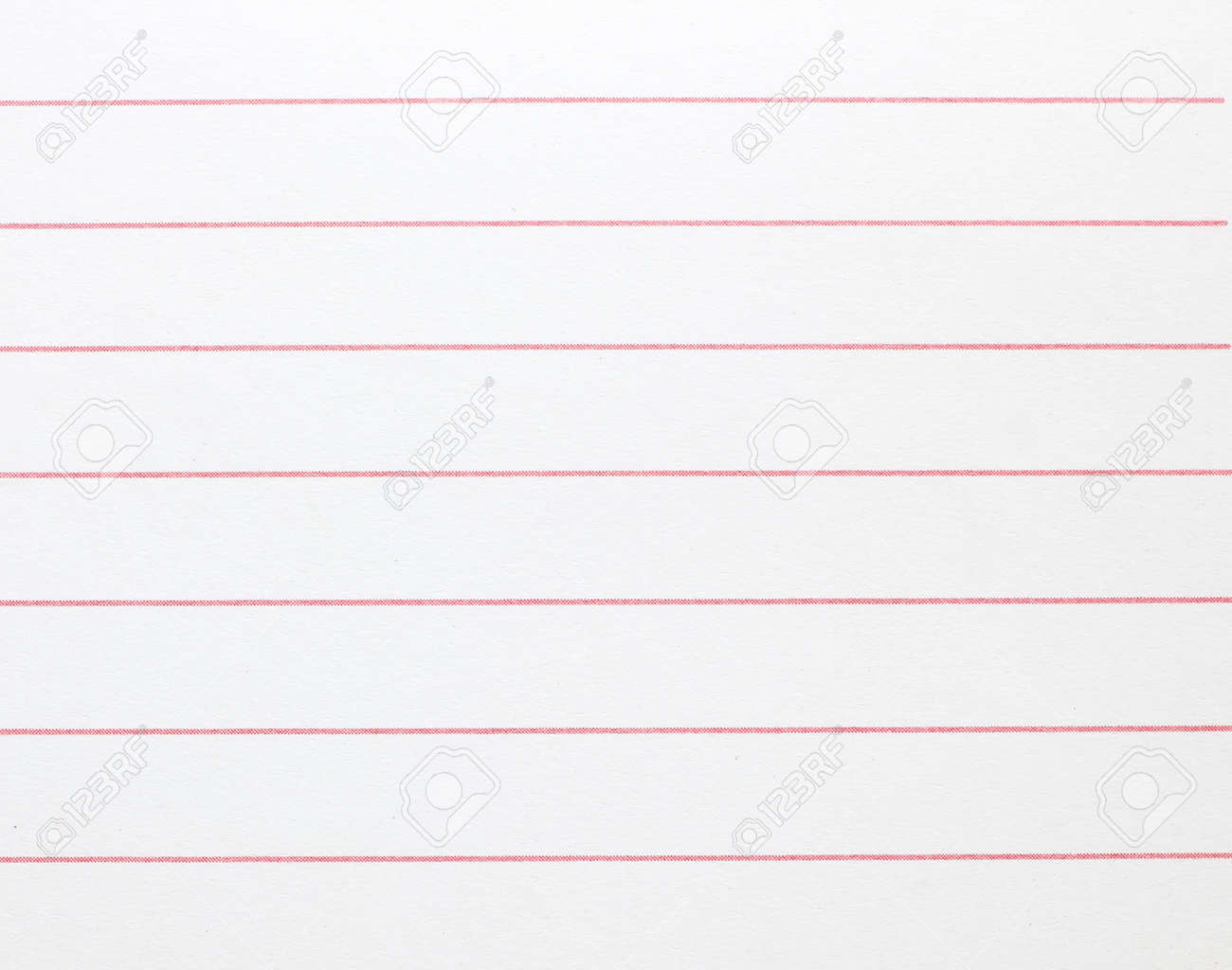 Blank Lined Notebook Paper Background Or Textured Stock Photo ...