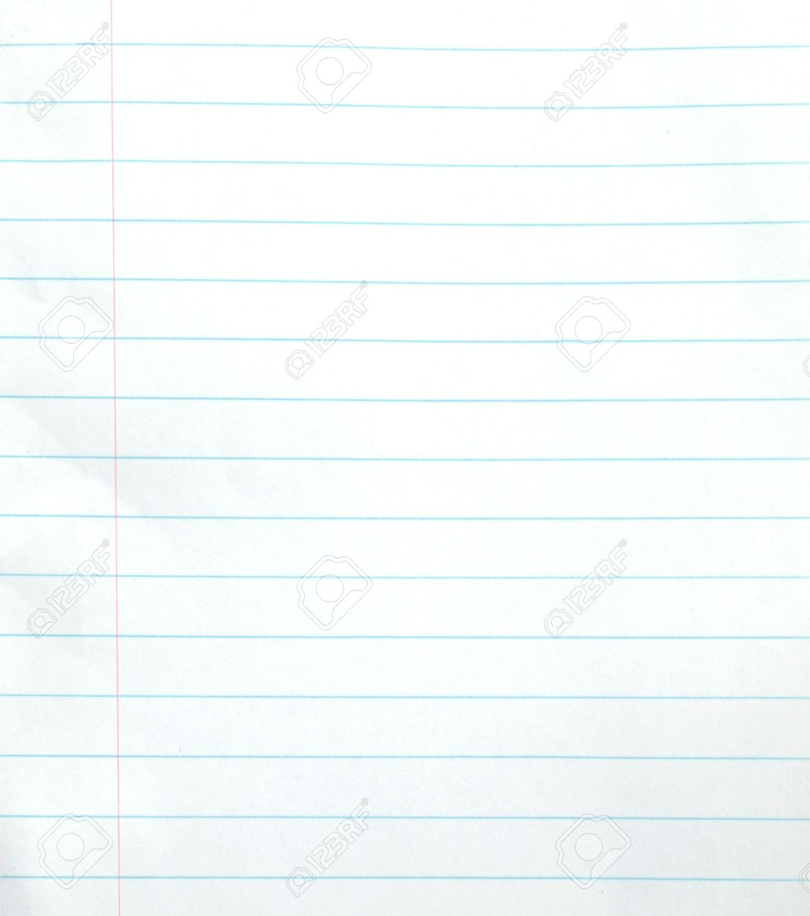 Blank Lined Notebook Paper Background Or Textured Photo – Blank Line Paper