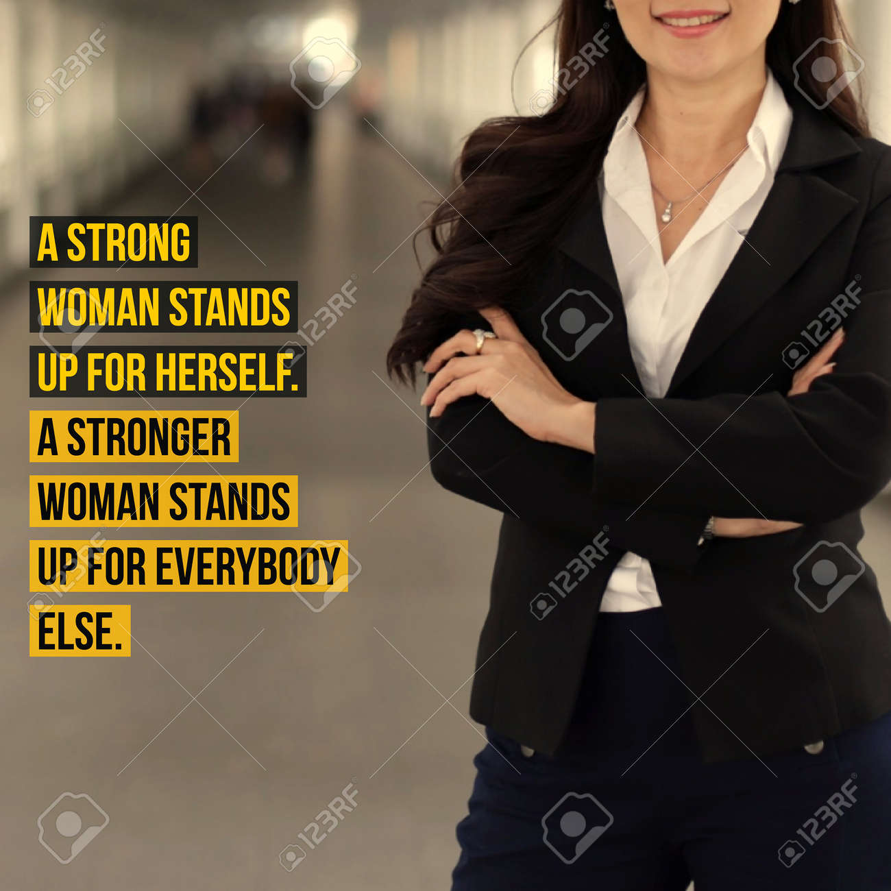 Inspirational Motivation Quote About Women Power And Leadership