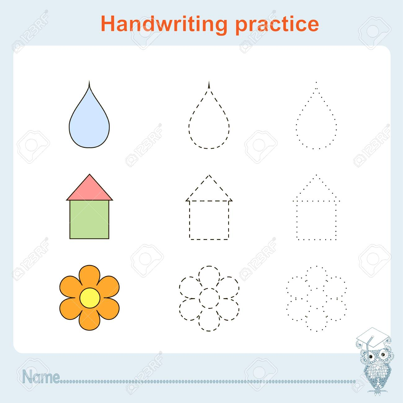 Handwriting Practice, Games Kids, Kids Activity Sheet, Training ...