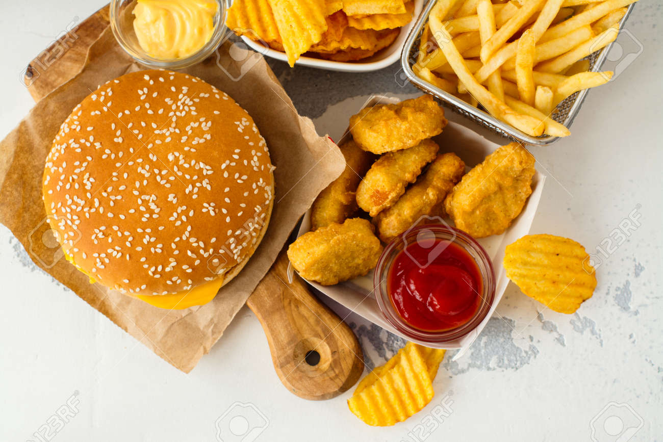 fast food is bad for health