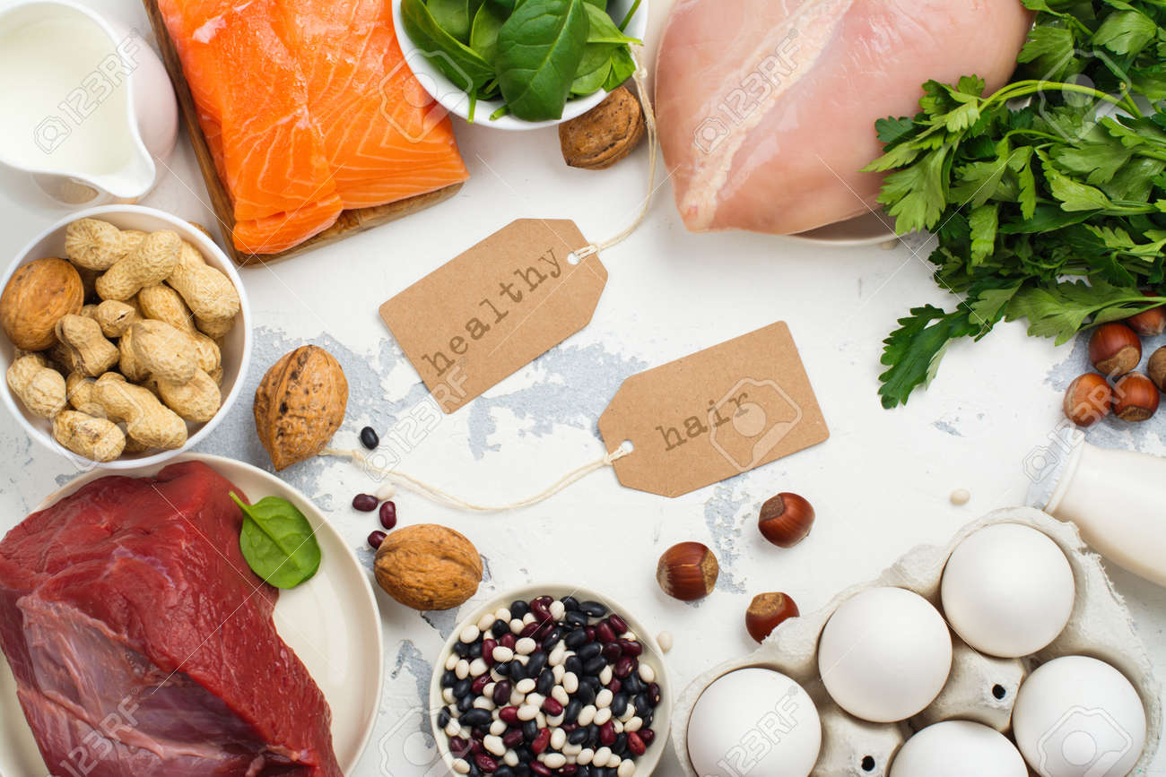 High protein food - fish, meat, poultry, nuts, eggs  Products