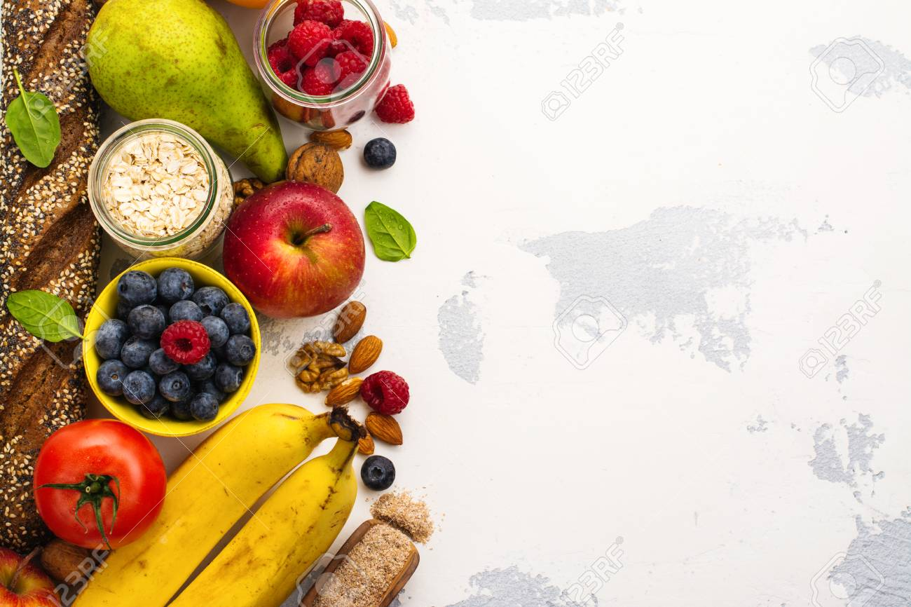 Food Rich Of Fiber Healthy Food Background Diet Or Healthy Stock Photo Picture And Royalty Free Image Image 86441686