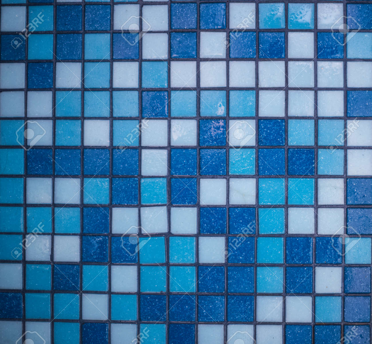 Background Of Small Floor Tiles In The Bathroom, All Shades Of ...