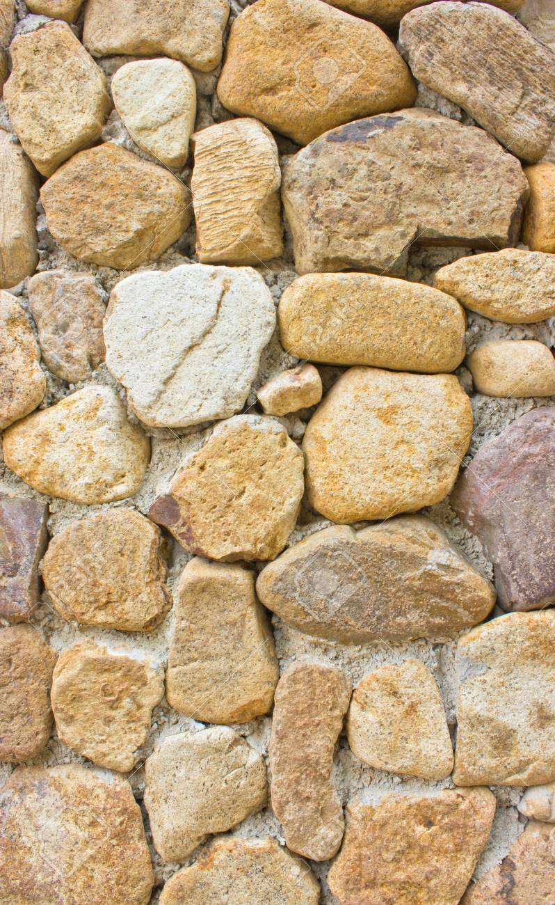 Stone wall background Stock Photo - 16396428