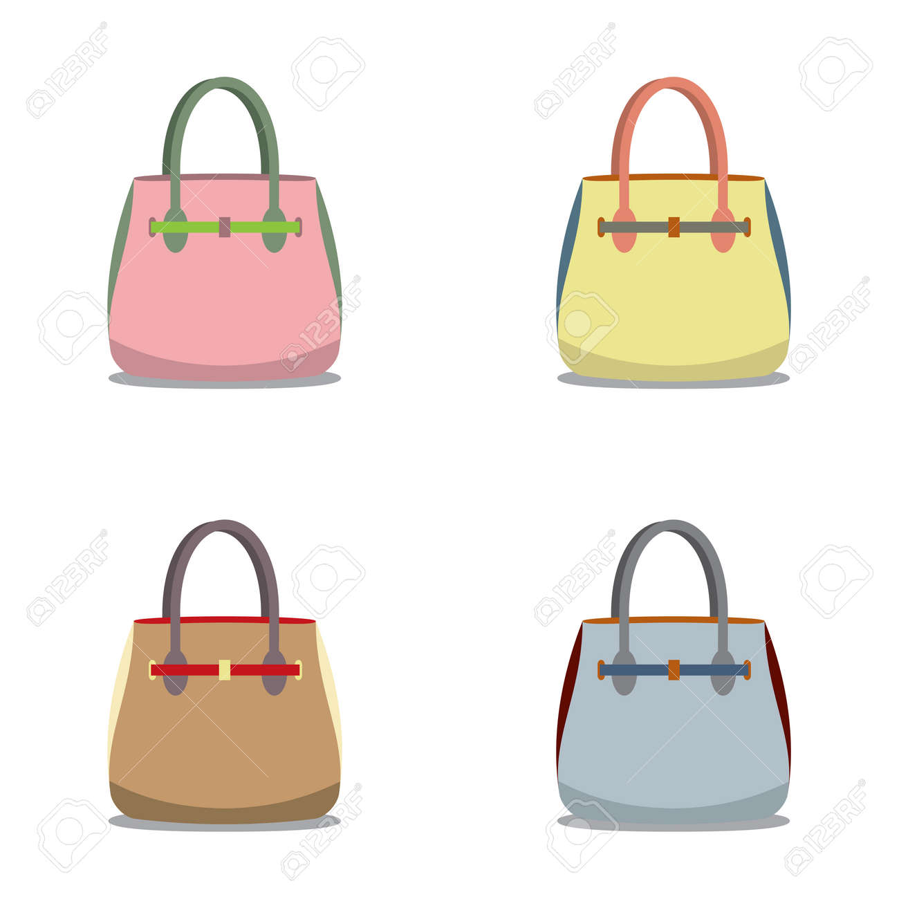 Women Bags Vector Illustration Royalty Free Cliparts, Vectors, And ... 53d1f1df51