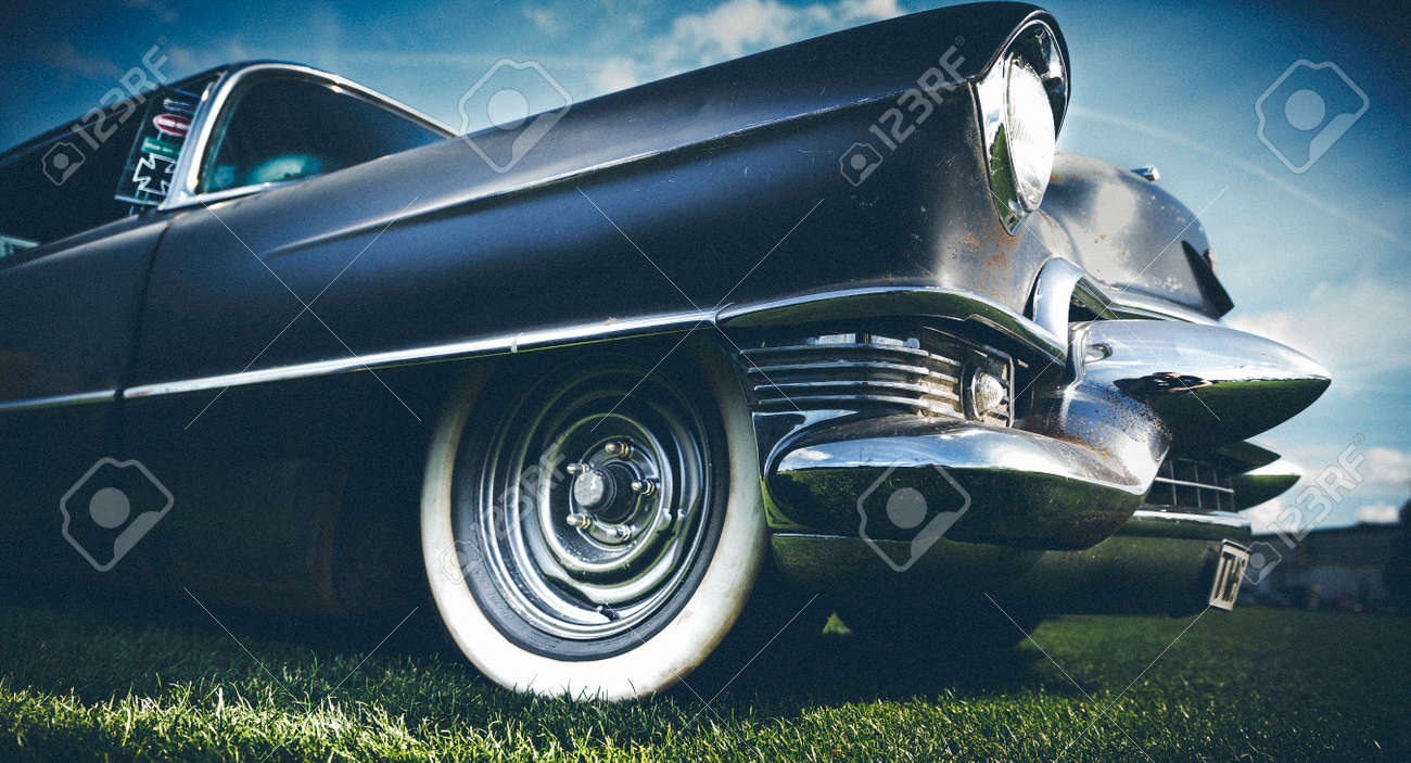 Oldtime American Car With A Vintage Look And Feel Stock Photo ...
