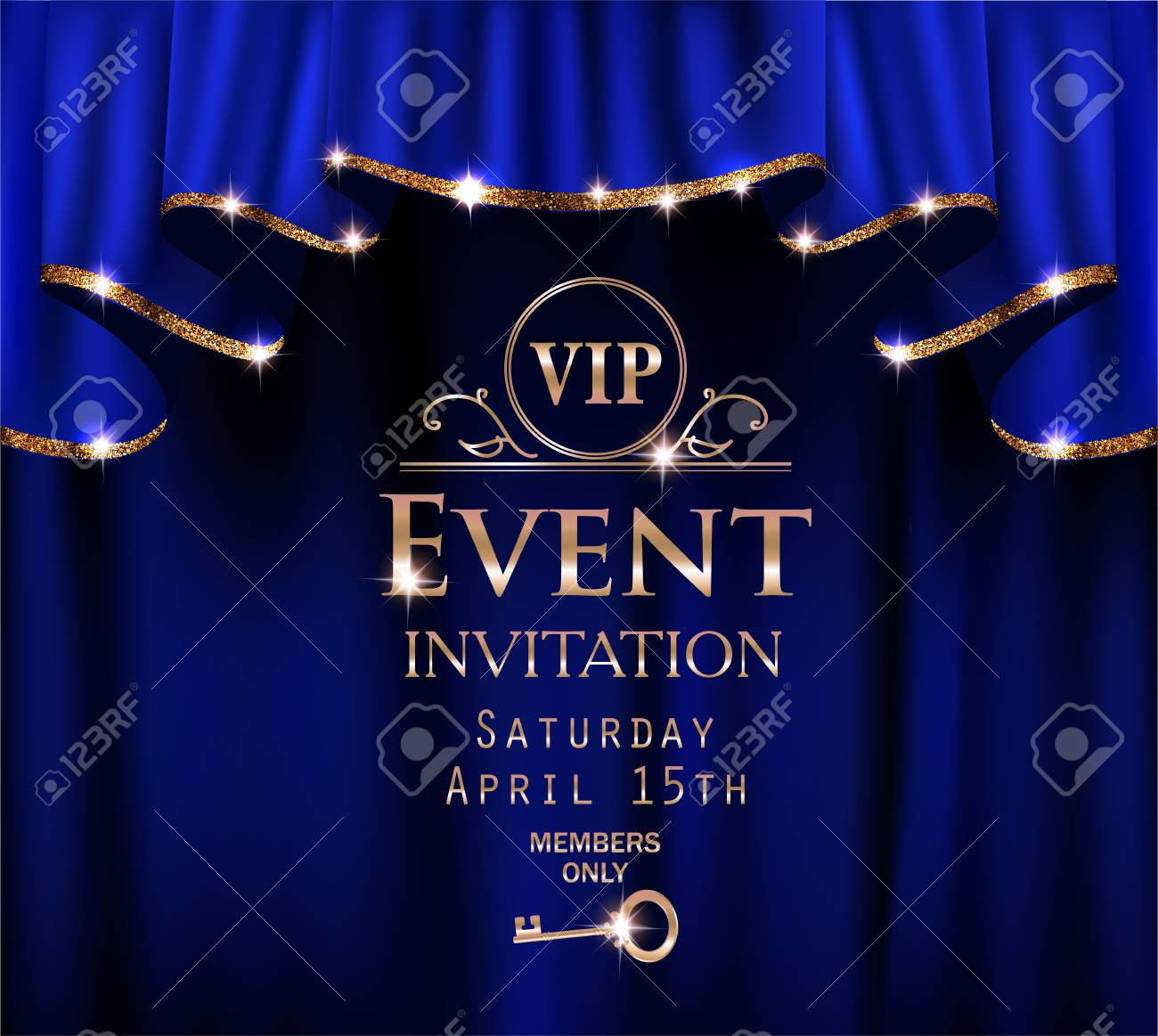 invitation card event
