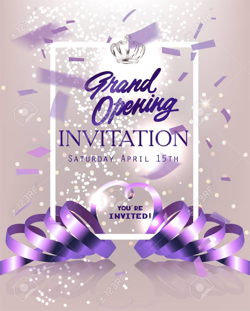 Texte Invitation Inauguration