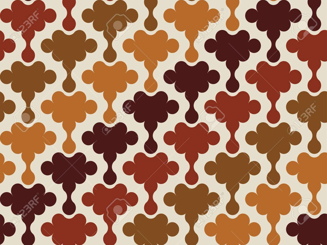 seamless wallpaper Stock Vector - 11468268