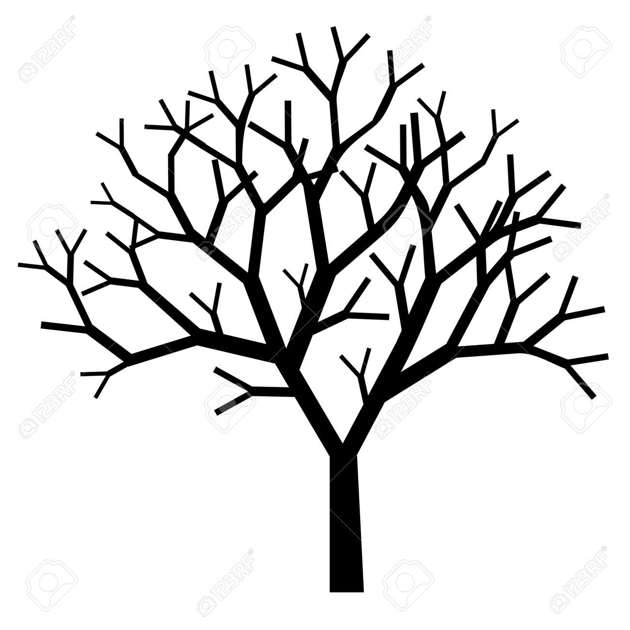tree silhouette royalty free cliparts vectors and stock rh 123rf com tree silhouette vector svg tree silhouette vector svg