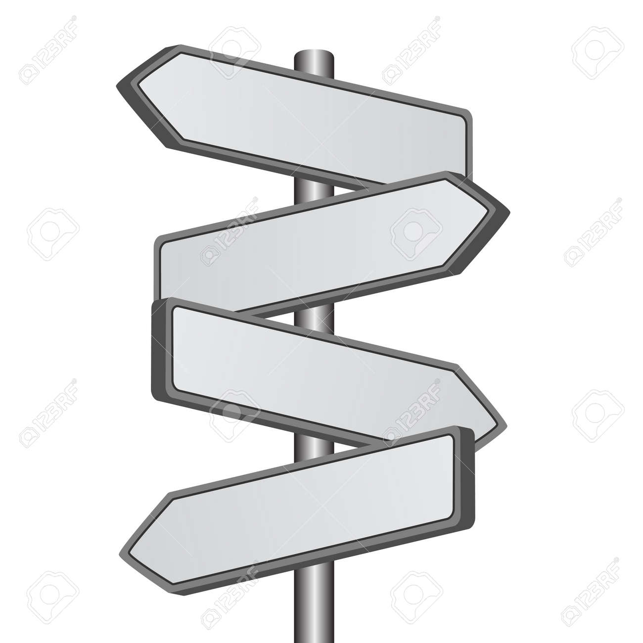 vector direction sign Stock Vector - 11486419