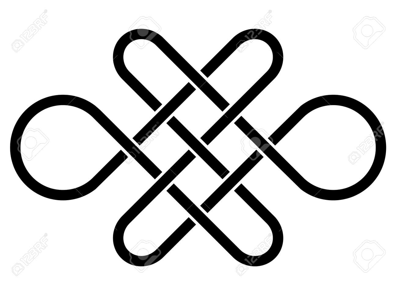 Vector endless celtic knot royalty free cliparts vectors and vector endless celtic knot buycottarizona Image collections