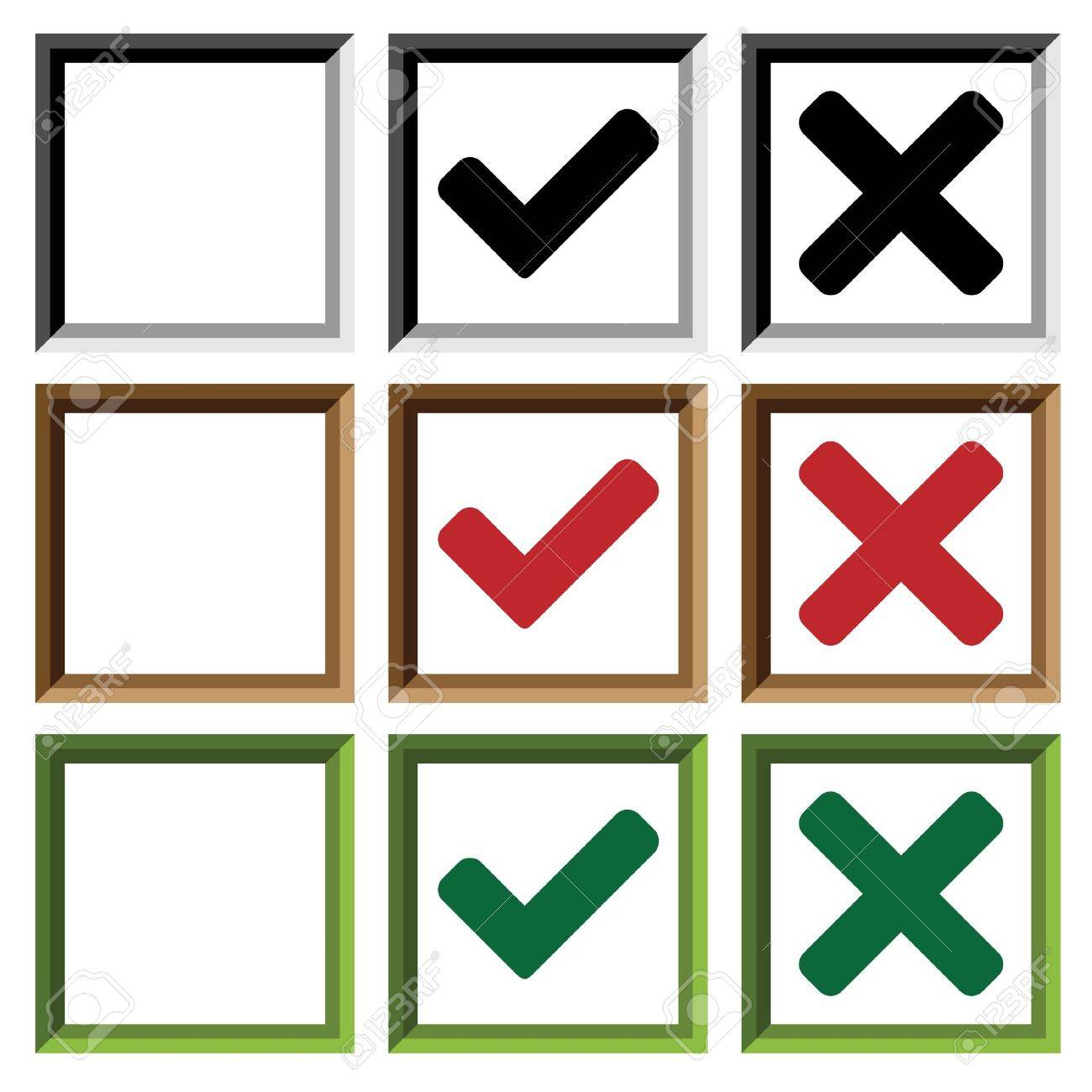 21,447 Checkbox Cliparts, Stock Vector And Royalty Free Checkbox ...