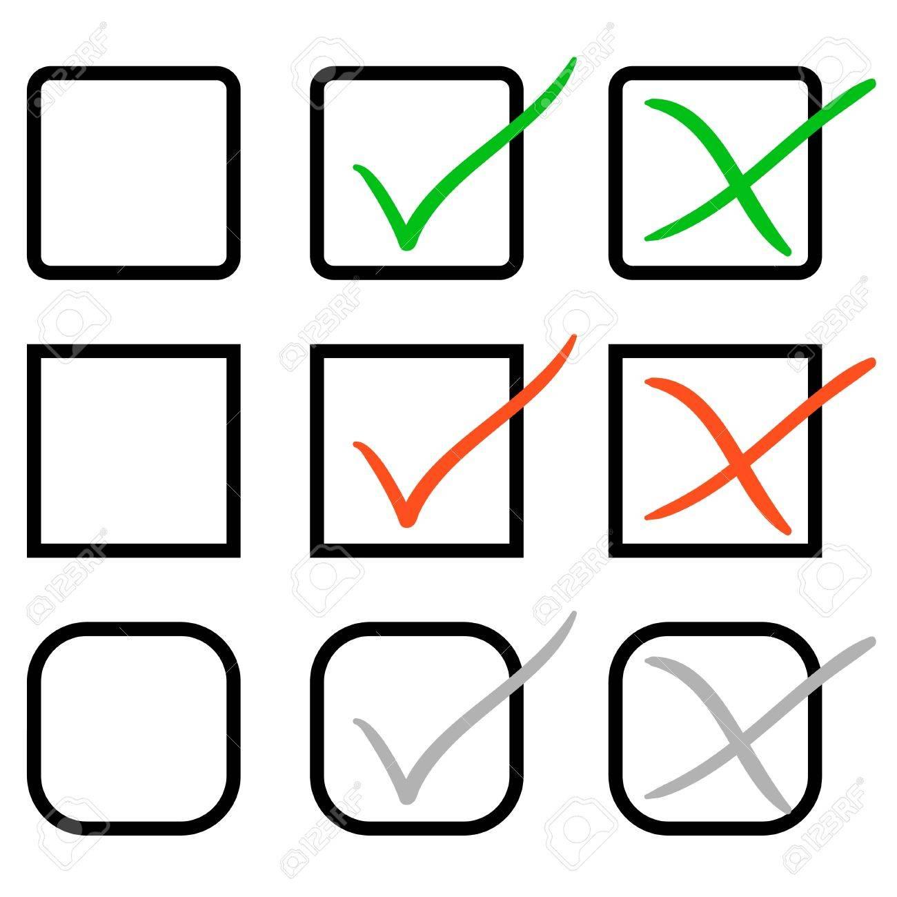 Mark Vector Free Vector Check Marks Check Box