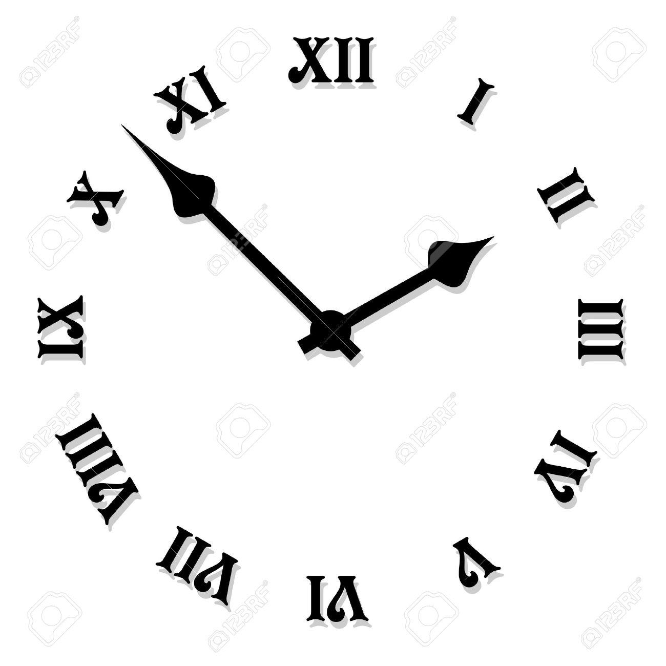 ベクトル時計の文字盤