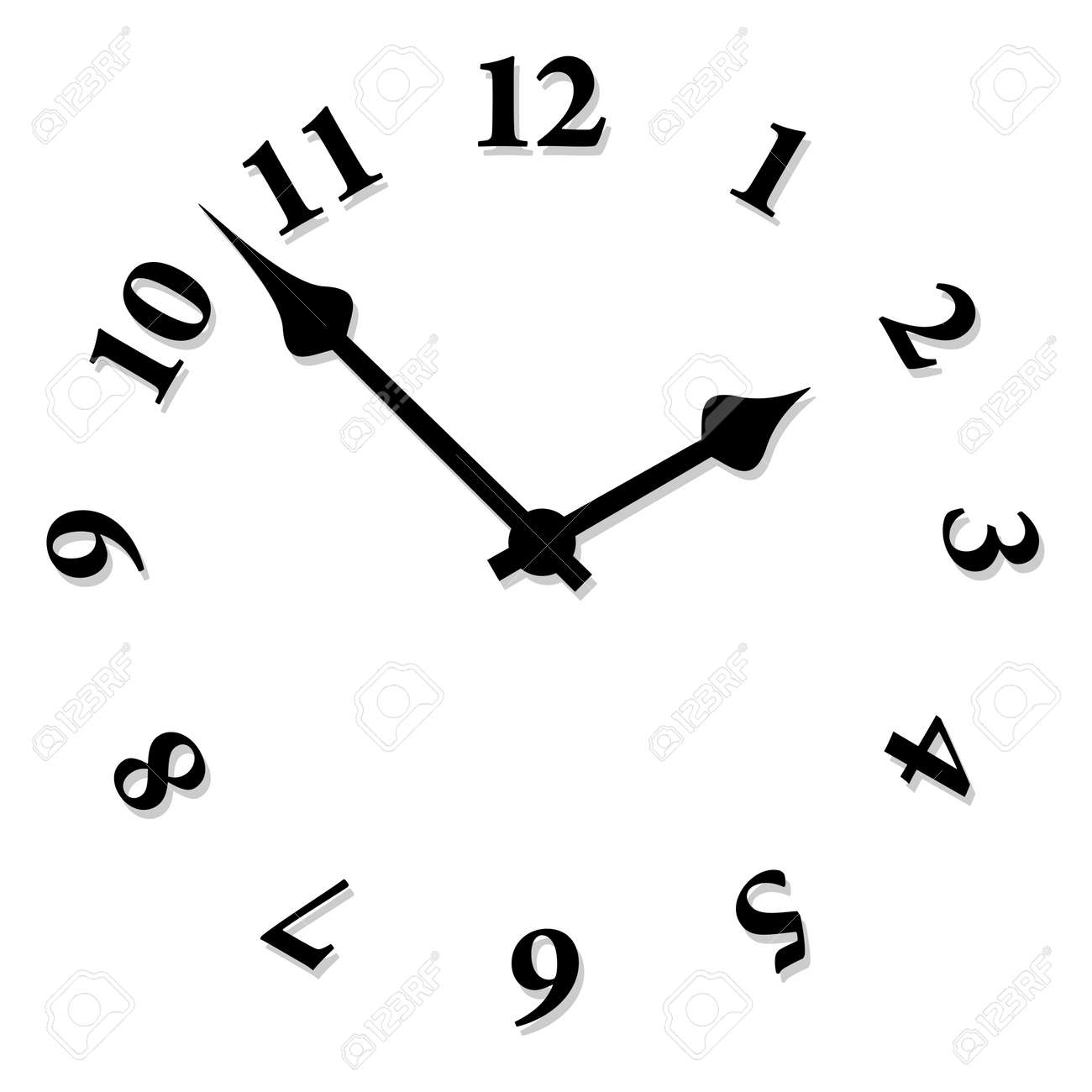 worksheet Clock Face 21498 clock face stock illustrations cliparts and royalty free vector face