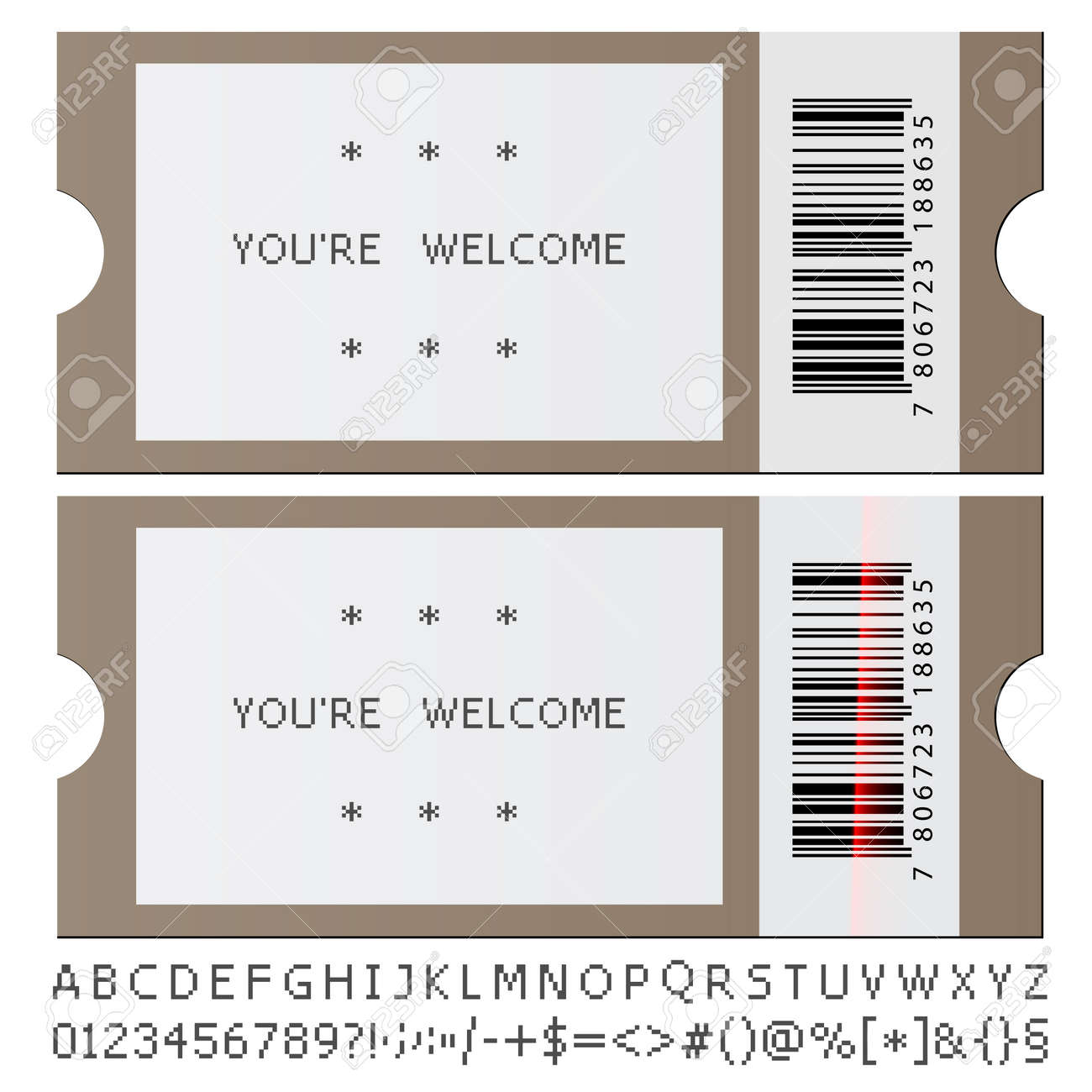 Template For Concert Tickets contract layout receipt examples