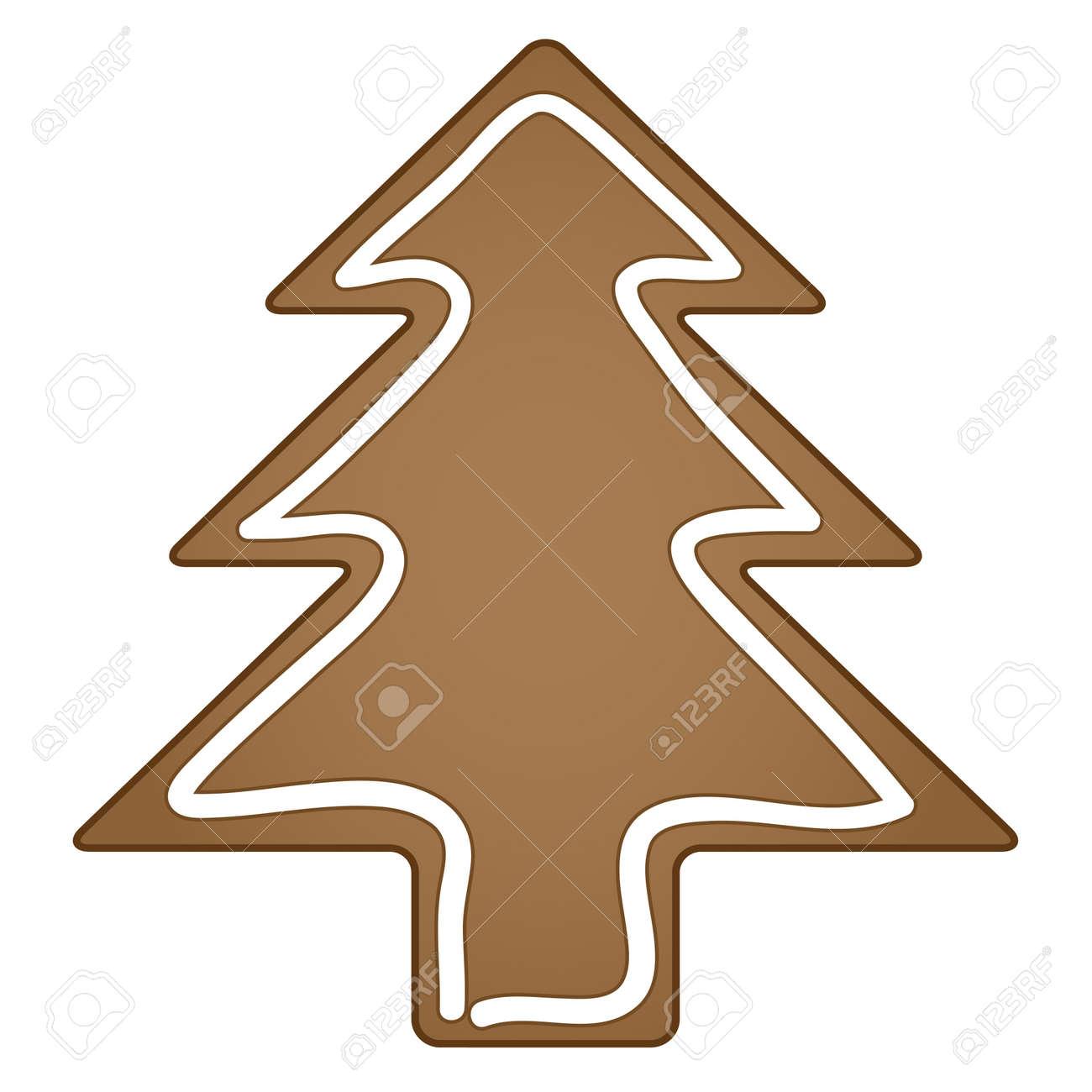 vector gingerbread christmas tree Stock Vector - 11504853