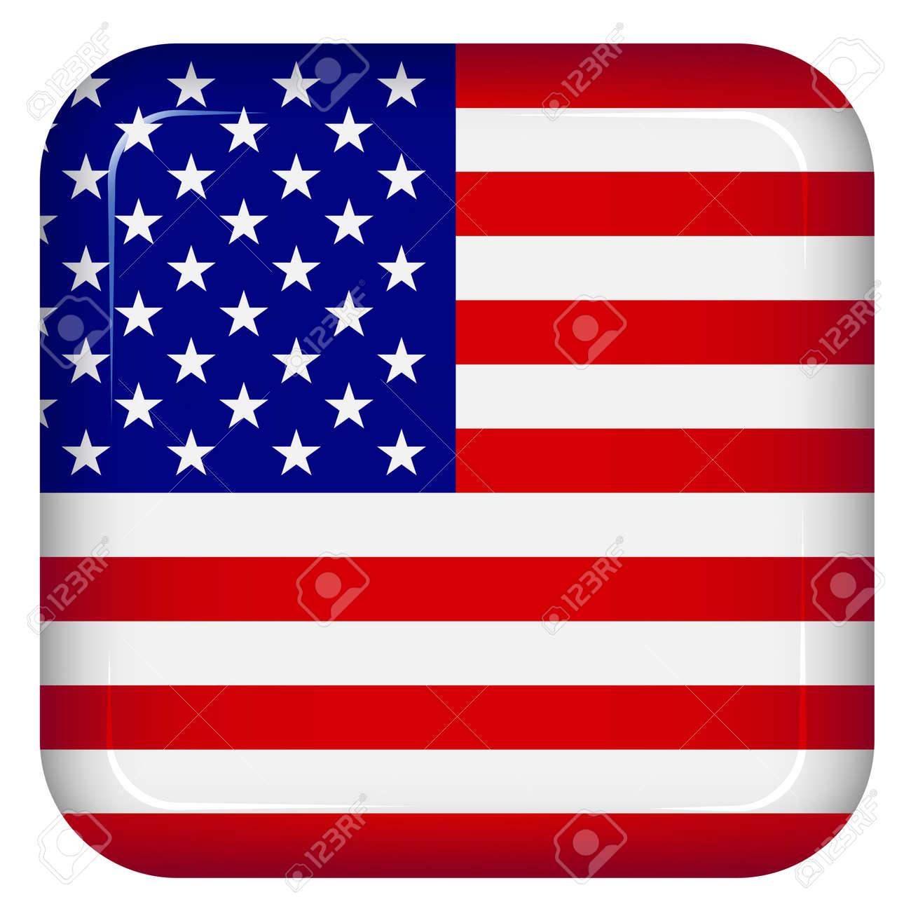Vector USA flag Stock Vector - 11504761