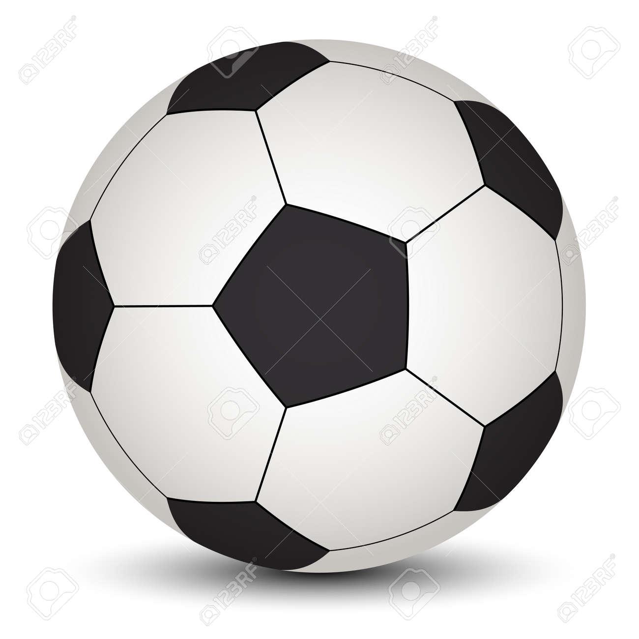 1b8290db9dc44 Vector De Pelota De Fútbol Ilustraciones Vectoriales