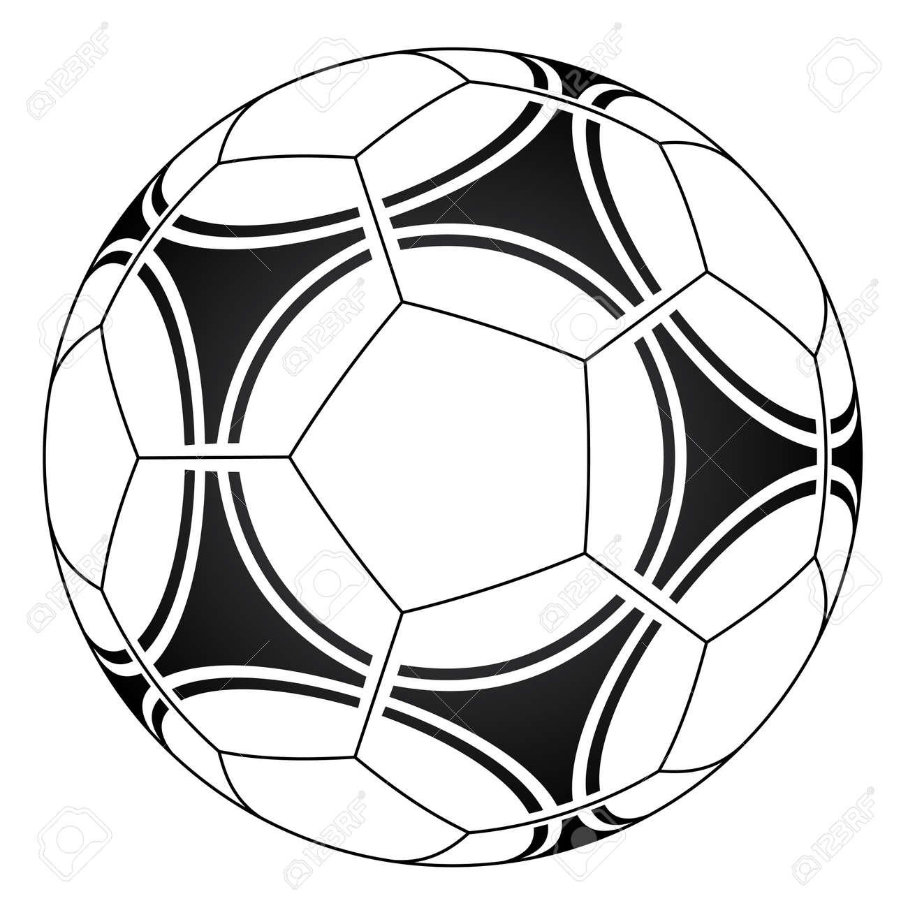 vector soccer ball royalty free cliparts vectors and stock rh 123rf com vector grunge soccer ball vector soccer ball icon
