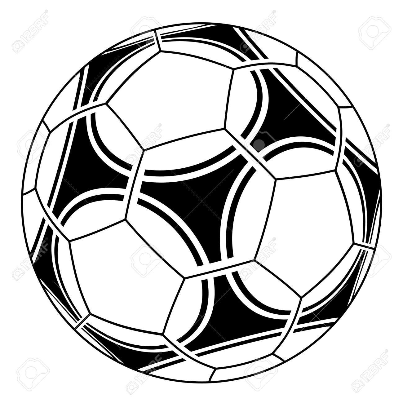 vector soccer ball royalty free cliparts vectors and stock rh 123rf com vector balloons vector ballistic shield