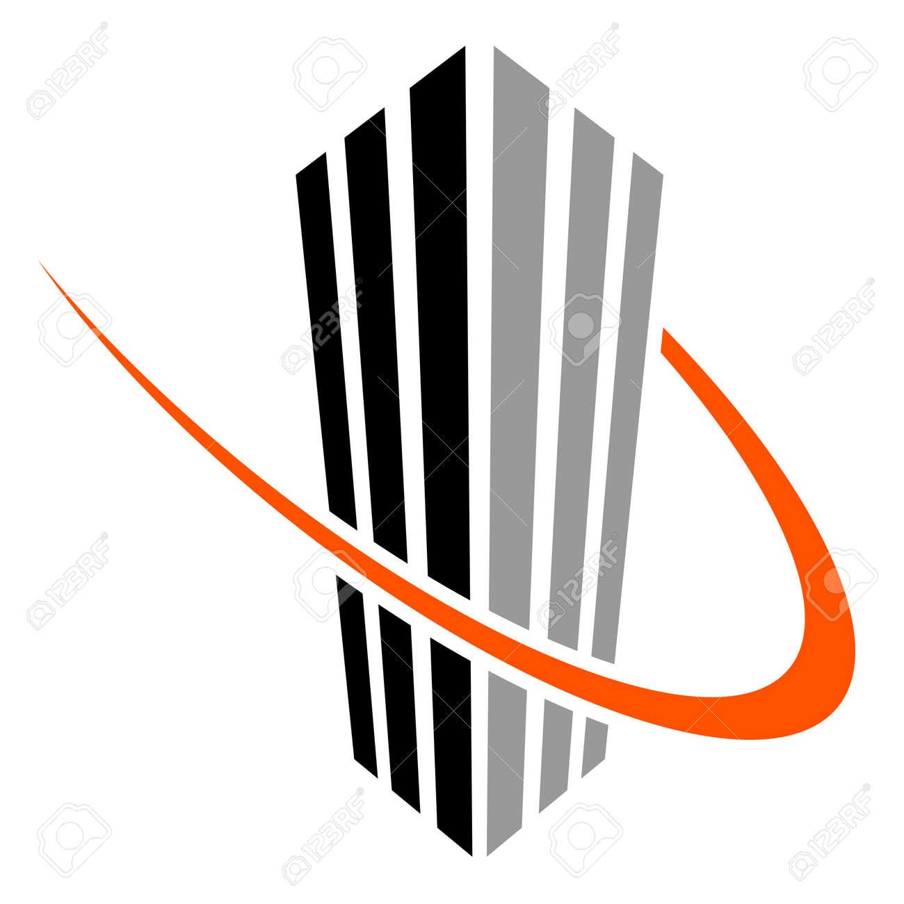 vector skyscraper symbol Stock Vector - 11519764