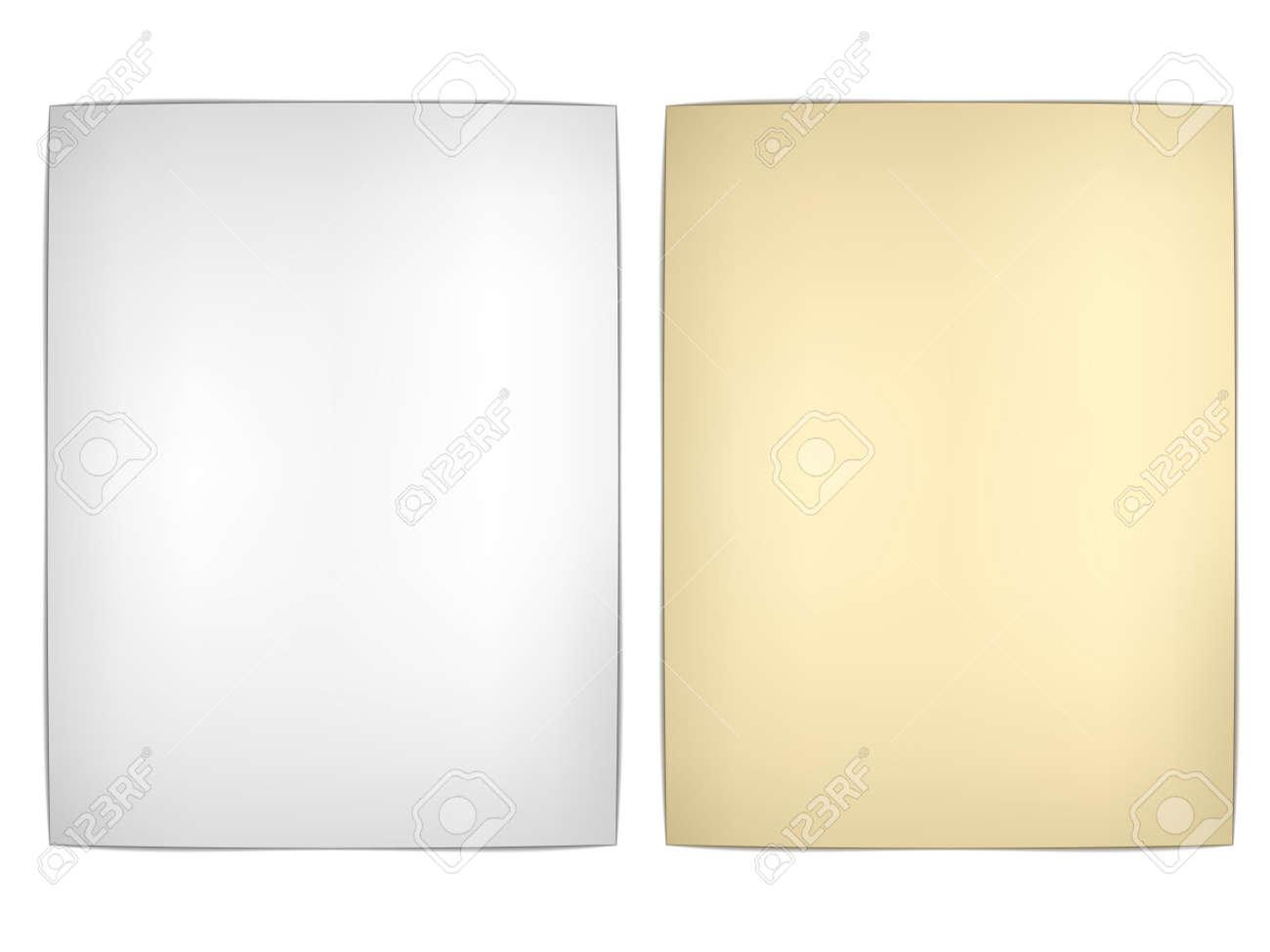 vector old wavy papers Stock Vector - 11520659