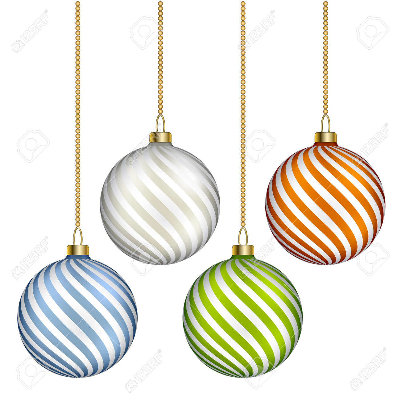 vector christmas balls Stock Vector - 11525496