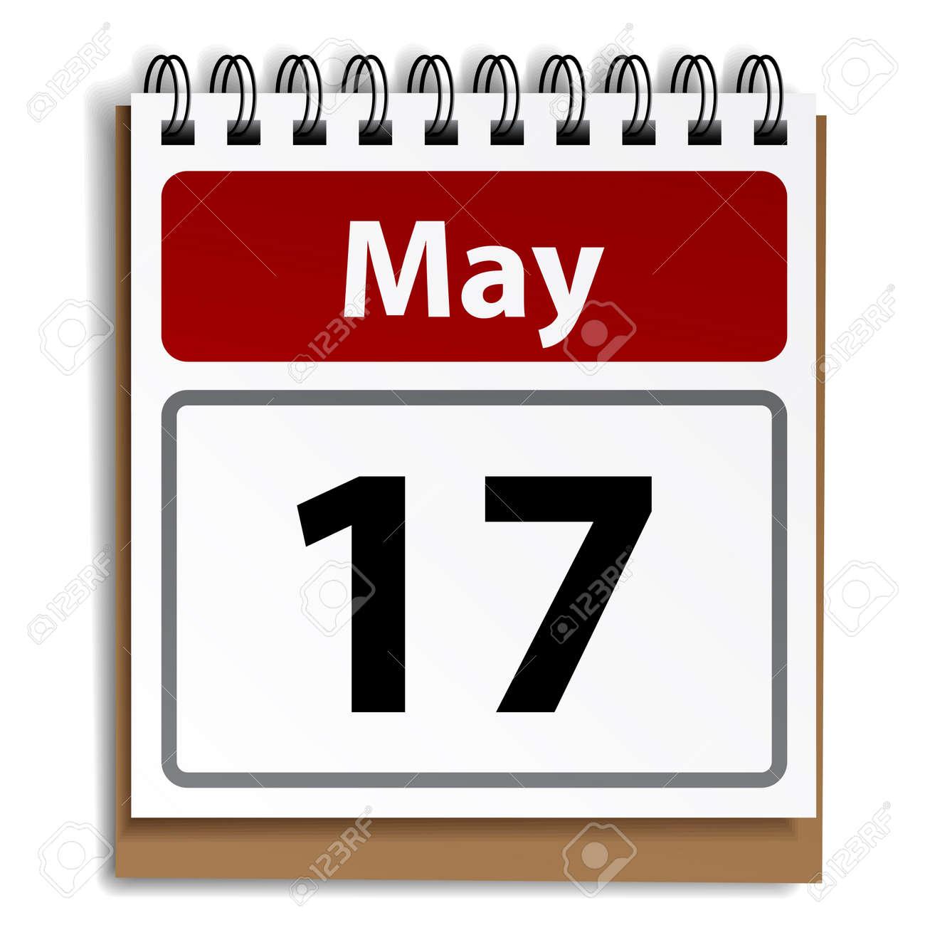 vector tear-off day calendar - 11564614