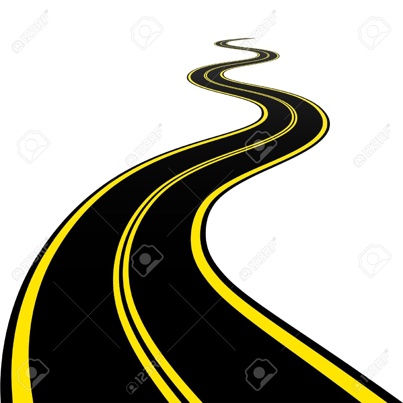 3,305 Winding Road Cliparts, Stock Vector And Royalty Free Winding ...