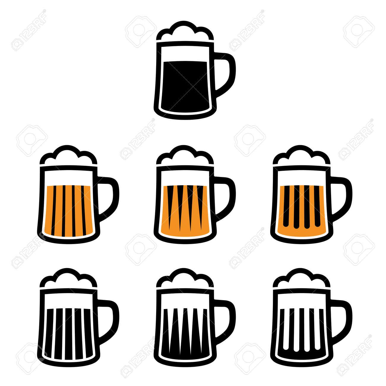 vector beer mug symbols royalty free cliparts vectors and stock rh 123rf com beer vector download beer vector mechanics solutions manual