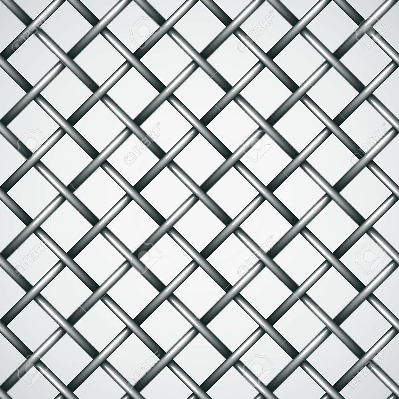 Vector Wire Fence Seamless Background Royalty Free Cliparts, Vectors ...
