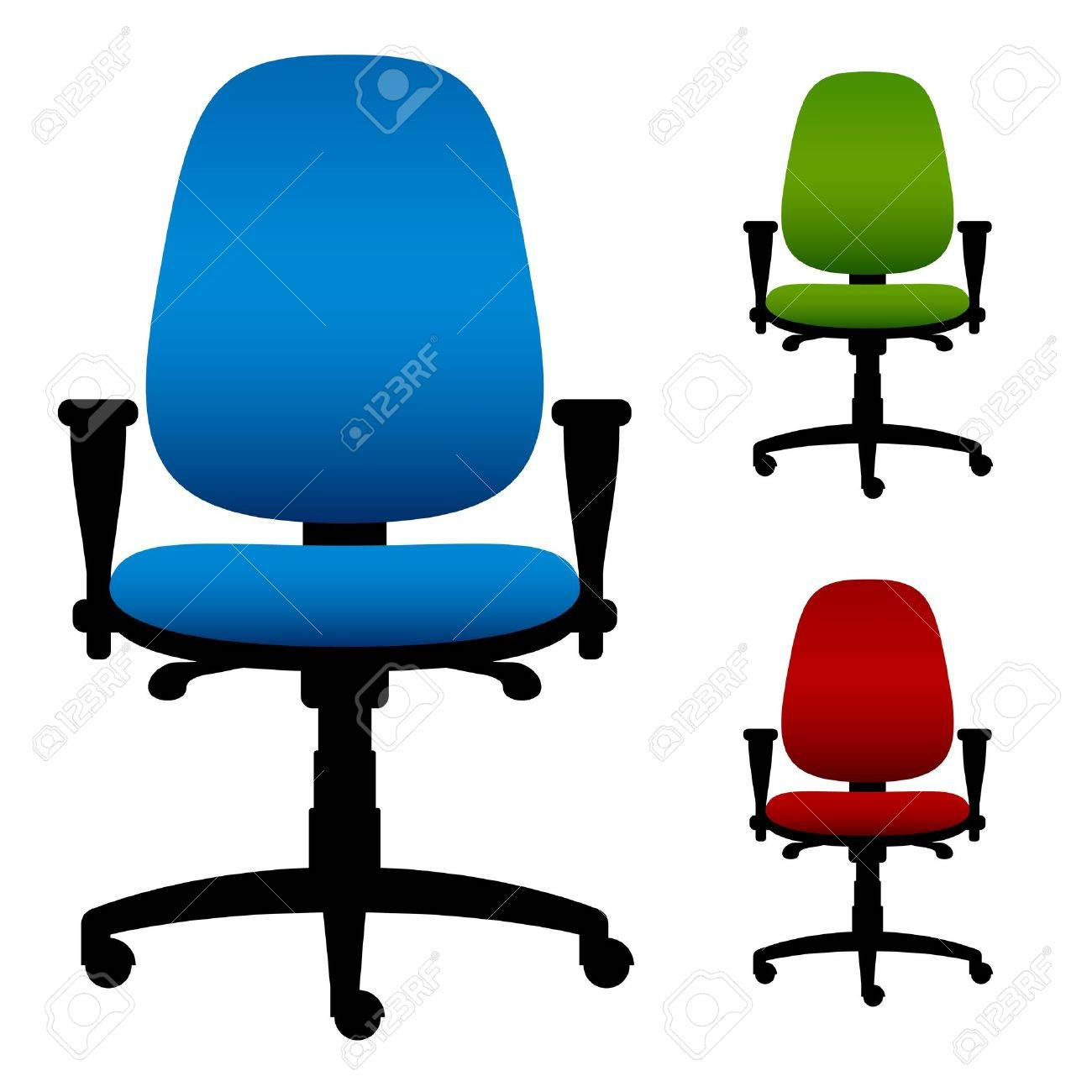 vector office chairs Stock Vector - 14940823