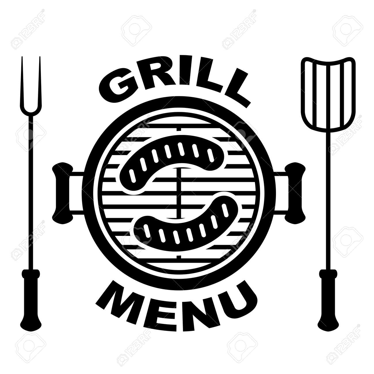 grill menu symbol - 14940808