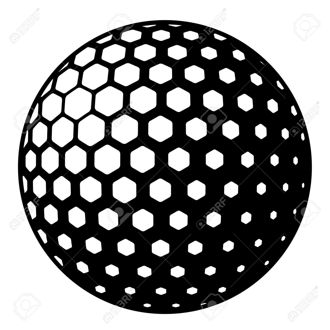 golf ball symbol royalty free cliparts vectors and stock rh 123rf com vector golf ball outline vector golf ball tutorial illustrator