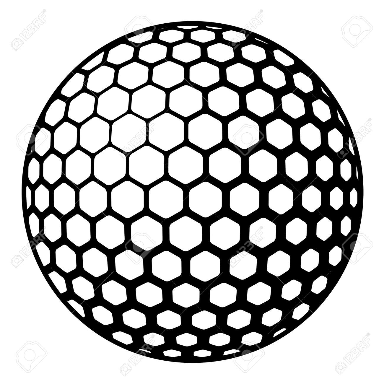 golf ball symbol royalty free cliparts vectors and stock rh 123rf com vector golf ball on tee vector golf ball image