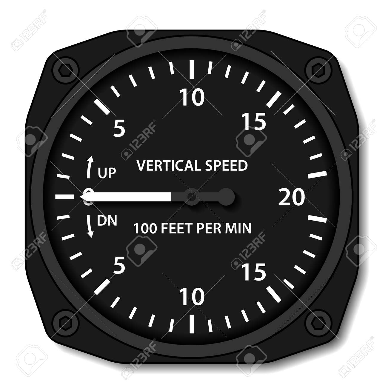 vector aviation variometer vertical speed indicator - 27449664