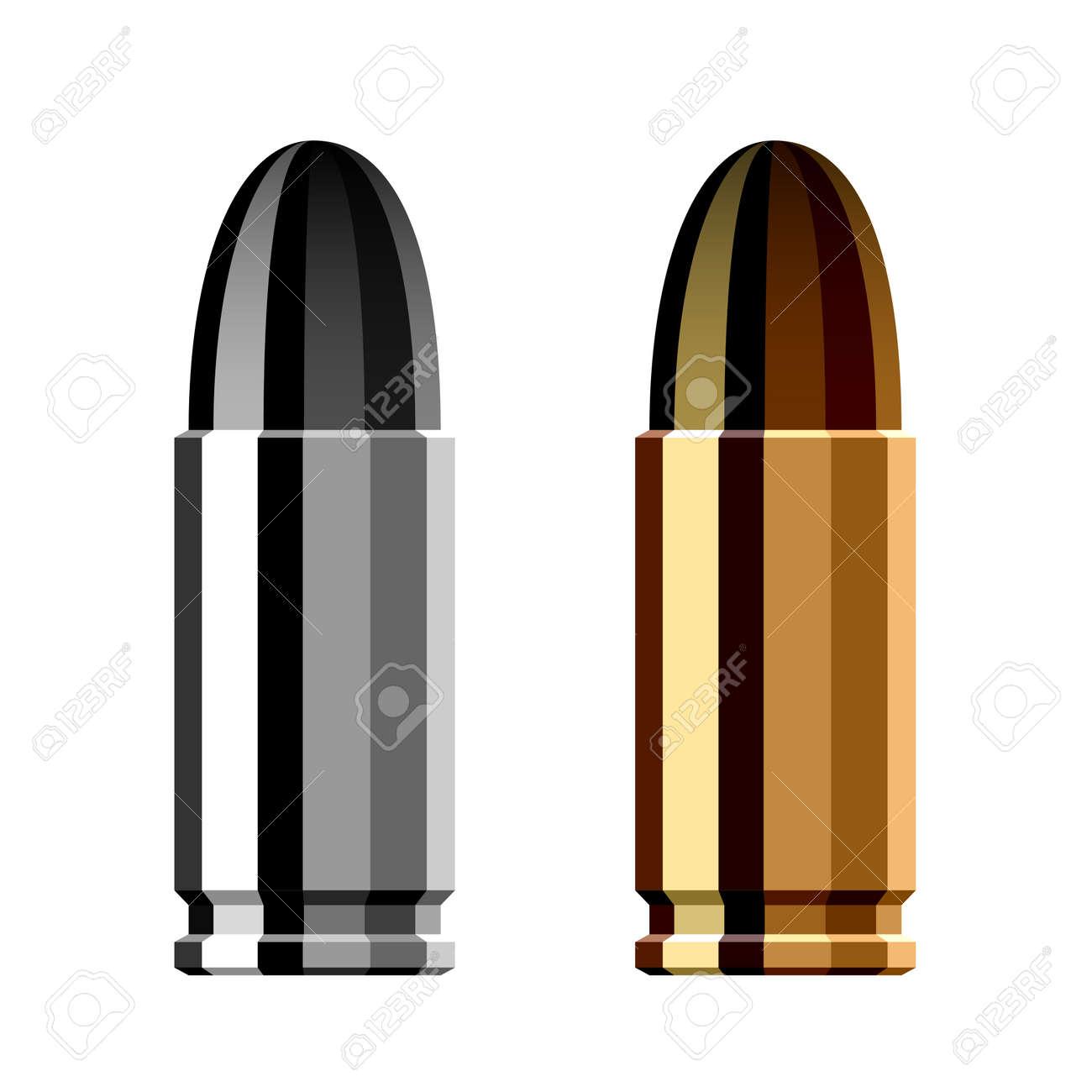 weapon gun bullet cartridge - 28108993