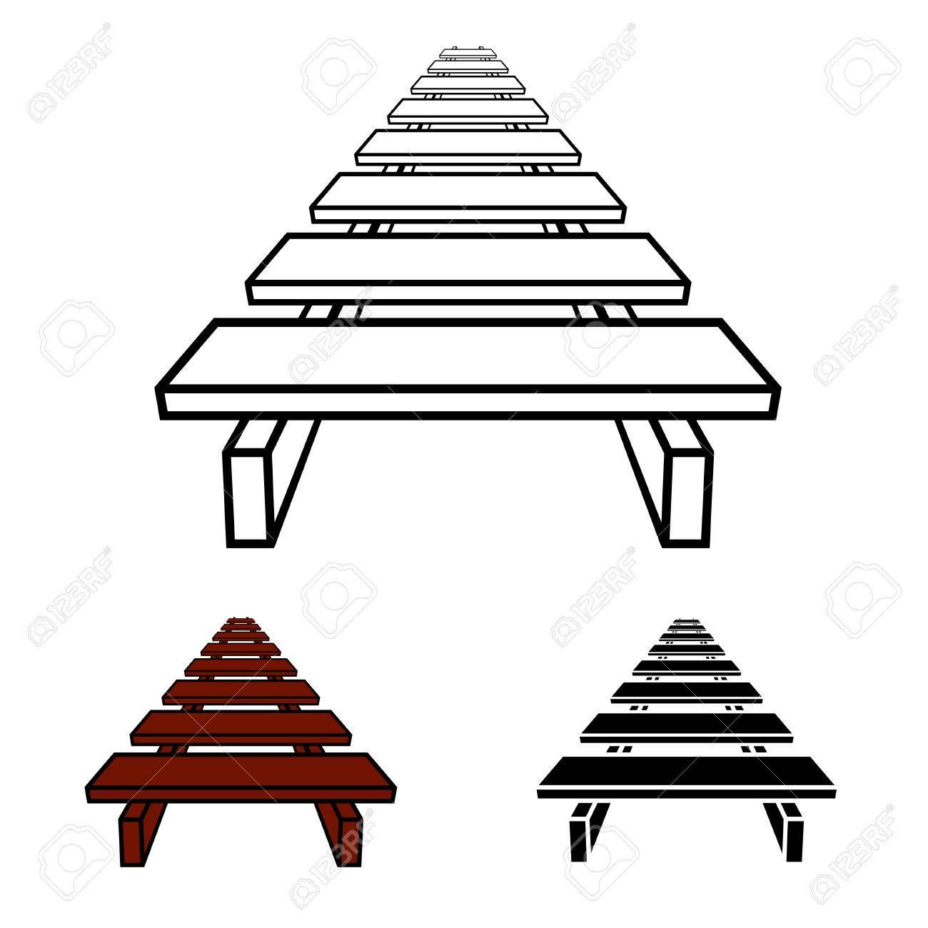 3d simple wooden footbridge black symbol royalty free cliparts 3d simple wooden footbridge black symbol stock vector 64144077 biocorpaavc